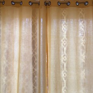 Window curtains